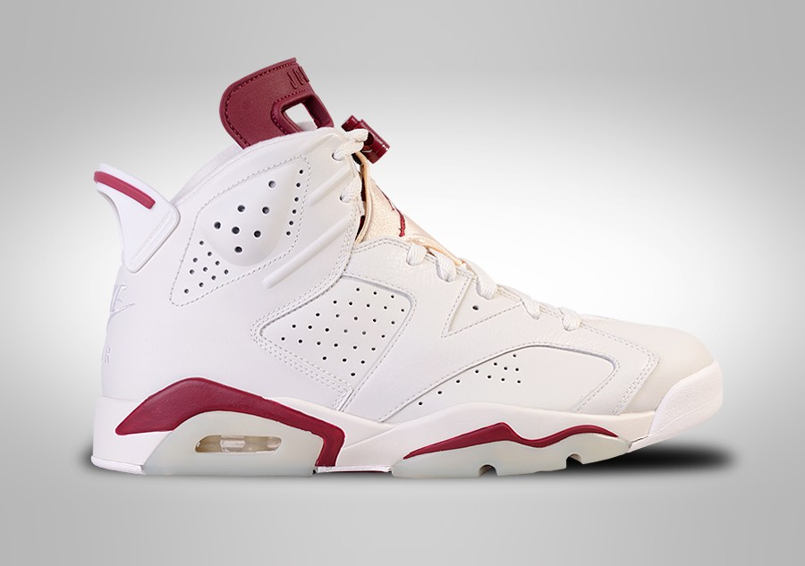 best loved 24690 df892 NIKE AIR JORDAN 6 RETRO MAROON