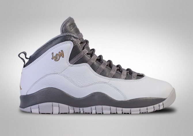 NIKE AIR JORDAN 10 RETRO LONDON CITY PACK