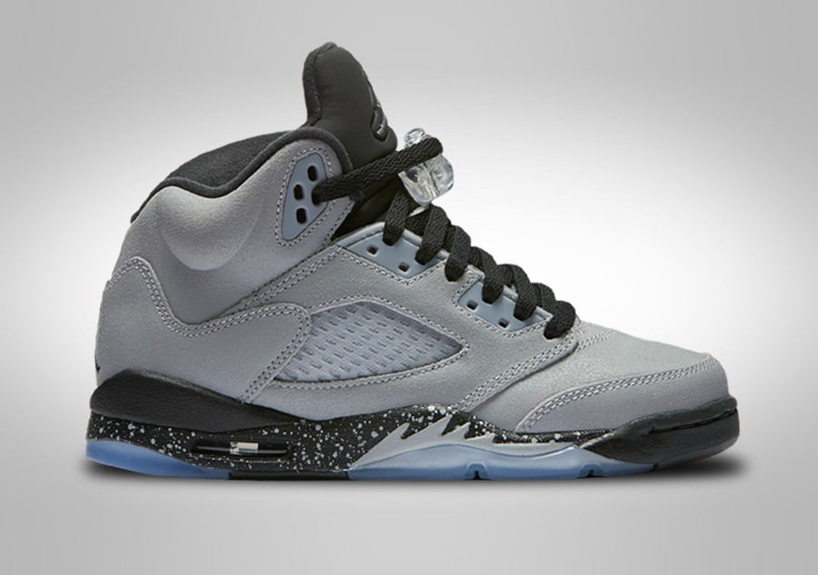 da4dd4a364a7 NIKE AIR JORDAN 5 RETRO GG WOLF GREY (SMALLER SIZE) price €122.50 ...