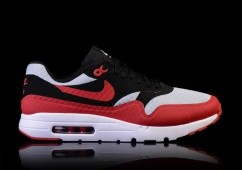 NIKE AIR MAX 1 ULTRA ESSENTIAL GYM RED-BLACK-WHITE
