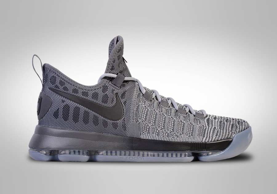 premium selection 8a1fb b6820 NIKE ZOOM KD 9 BATTLE GREY