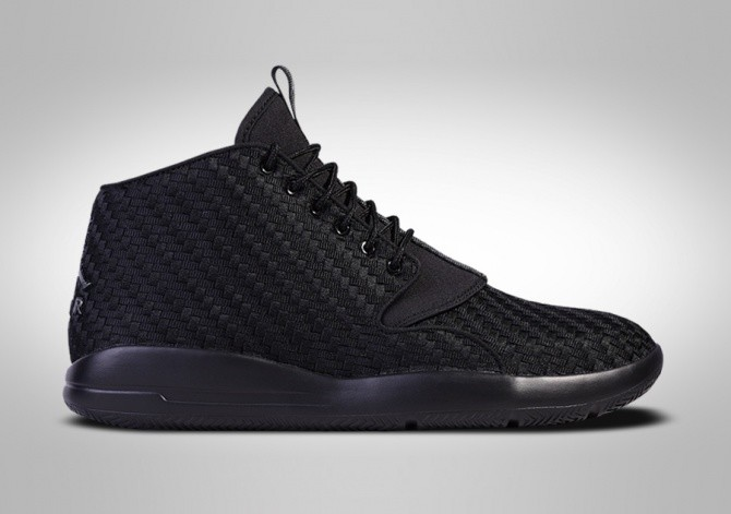 NIKE AIR JORDAN ECLIPSE CHUKKA TRIPLE BLACK