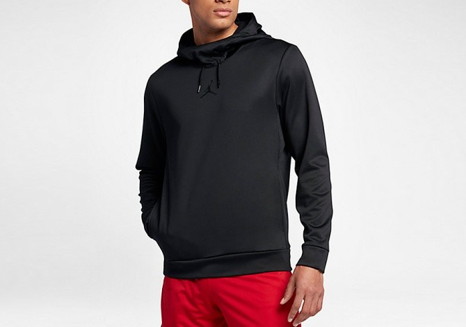 new style 83de8 5d39f Por Nike 23 Black Jordan Hoodie Therma Alpha Air Training pZBqx6