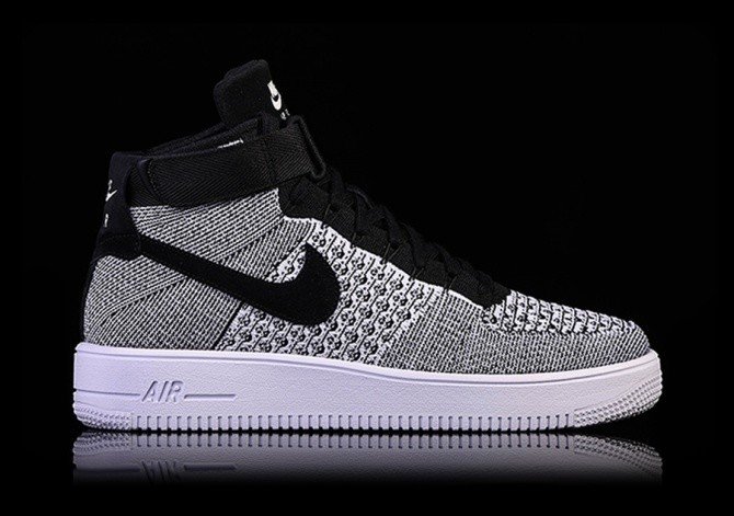 new product fa145 315ce NIKE AIR FORCE 1 ULTRA FLYKNIT MID OREO