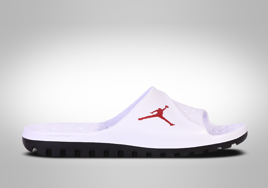 d7673c9f1c0b2 NIKE AIR JORDAN SUPER.FLY TEAM SLIDE WHITE FIRE RED price €35.00 ...