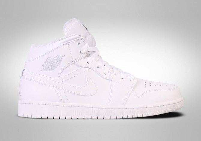 the best attitude 7c7c1 e6a6d NIKE AIR JORDAN 1 RETRO MID WHITE