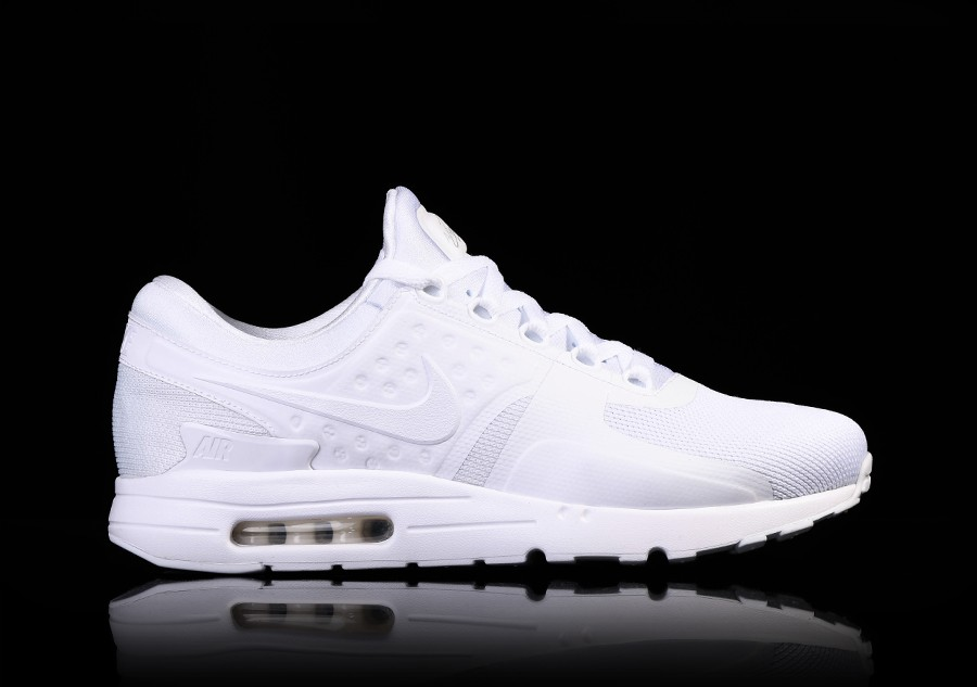 uk availability 1e264 b5361 NIKE AIR MAX ZERO ESSENTIAL WHITE price €105.00   Basketzone.net