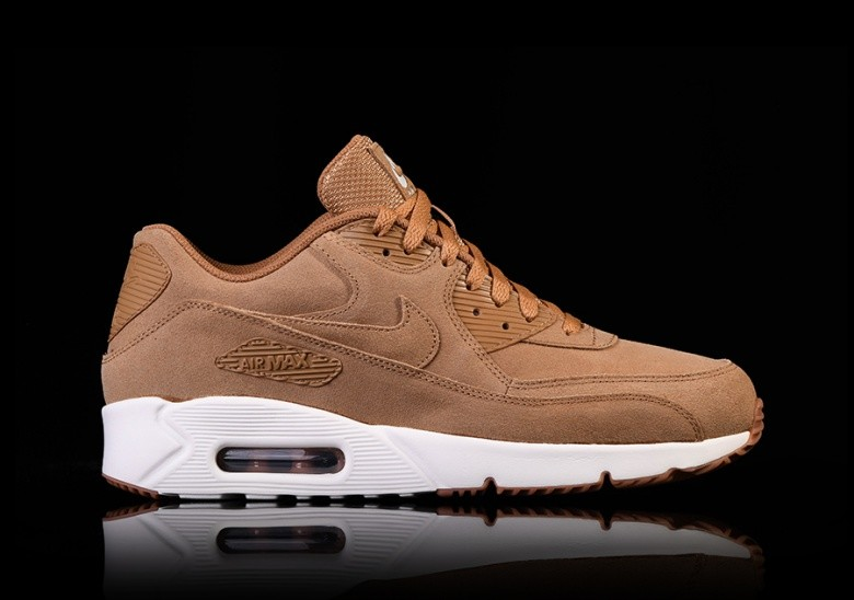 new products 6e33d 2b828 NIKE AIR MAX 90 ULTRA 2.0 LEATHER FLAX