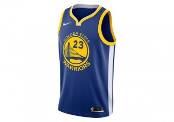 NIKE NBA GOLDEN STATE WARRIORS DRAYMOND GREEN SWINGMAN JERSEY RUSH BLUE