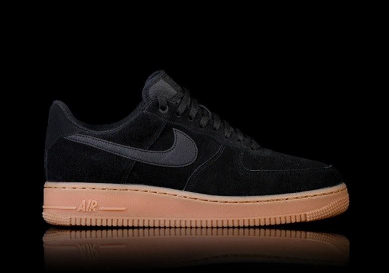 Womens Nike Air Force 1 Lv8 Gs Flat Pewter Gum Med Brown Uk Size 4