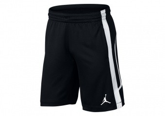NIKE AIR JORDAN FLIGHT BASKETBALL SHORTS BLACK