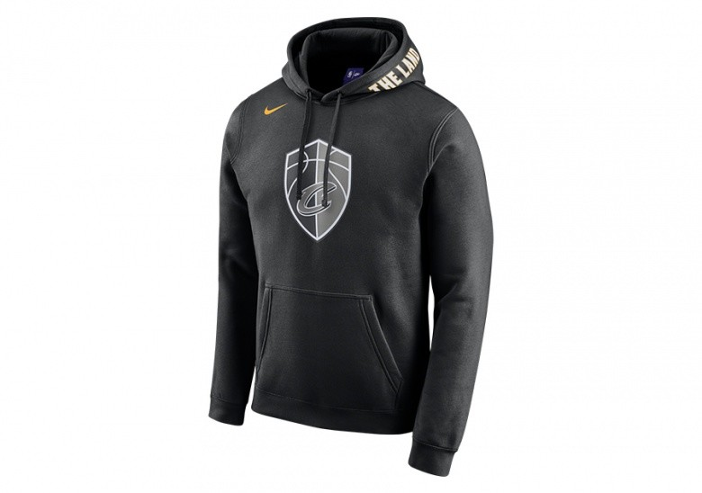 dc775c1a8be35 NIKE NBA CLEVELAND CAVALIERS CITY EDITION HOODIE BLACK por €65