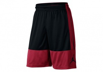 NIKE AIR JORDAN RISE SOLID SHORTS GYM RED