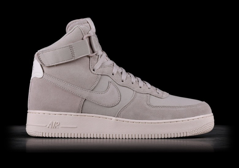 finest selection fbf93 610a5 NIKE AIR FORCE 1 HIGH  07 SUEDE DESERT SAND