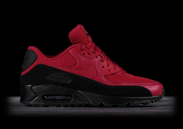 separation shoes a8698 4b8aa NIKE AIR MAX 90 ESSENTIAL BLACK RED