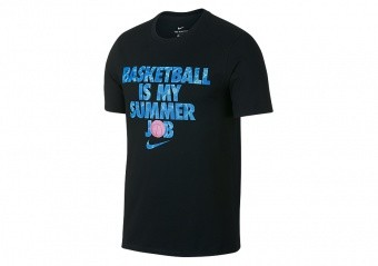 NIKE SUMMER JOB DRY TEE BLACK