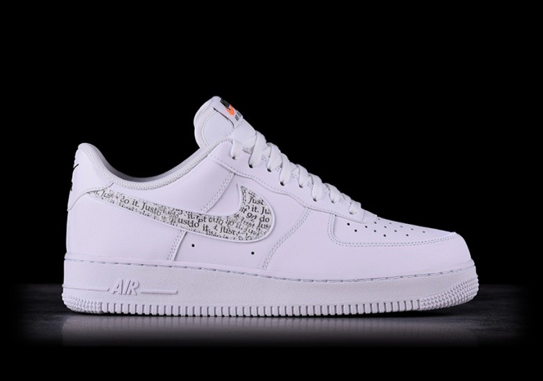 pick up 76d04 d403d NIKE AIR FORCE 1 '07 LV8 JDI LNTC WHITE voor €109,00 | Basketzone.net