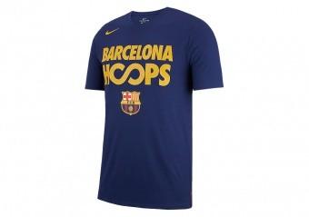 NIKE FC BARCELONA DRY TEE LOYAL BLUE