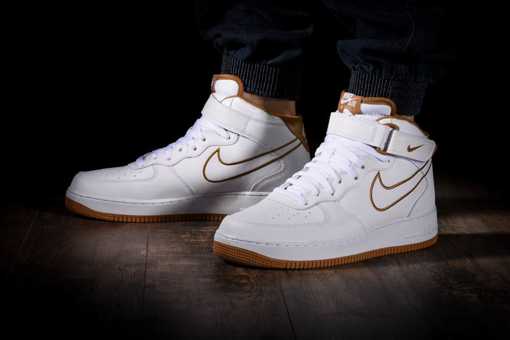 NIKE AIR FORCE 1 MID '07 LEATHER