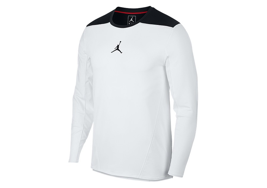 4f3dd3abbaadae NIKE AIR JORDAN ULTIMATE FLIGHT SHOOTING SHIRT WHITE price €55.00 ...
