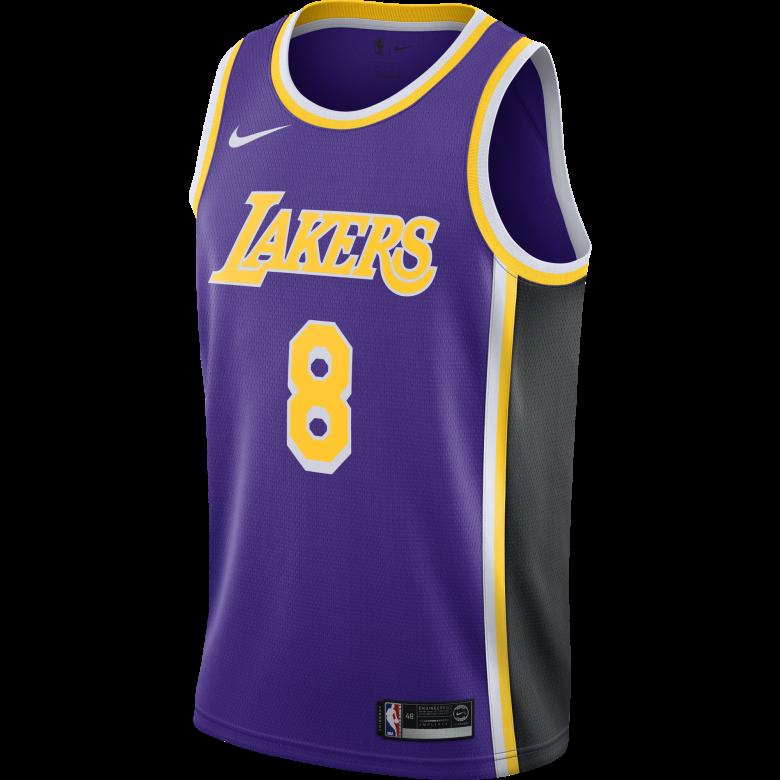 NBA LOS ANGELES LAKERS KOBE BRYANT SWINGMAN JERSEY. FIELD PURPLE. KOBE  BRYANT. €95 d4a55d2d9630