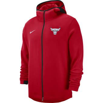 NIKE NBA CHICAGO BULLS SHOWTIME DRY HOODIE