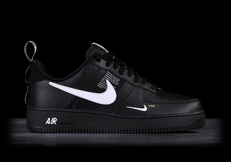 best website 4e7c4 4a756 NIKE AIR FORCE 1  07 LV8 UTILITY BLACK