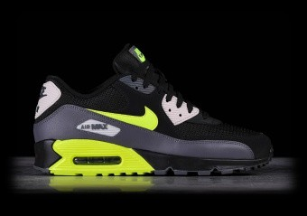 NIKE AIR MAX 90 ESSENTIAL BLACK VOLT