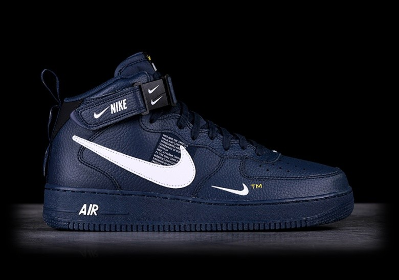 best loved 6ed39 11298 NIKE AIR FORCE 1 MID  07 LV8 OBSIDIAN