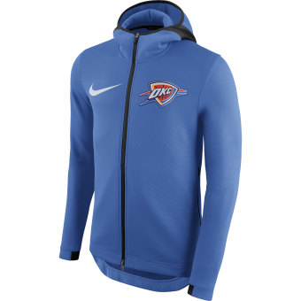 NIKE NBA OKLAHOMA CITY THUNDERM THERMAFLEX HOODIE
