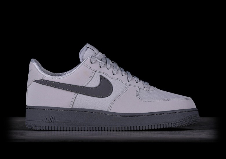 NIKE AIR FORCE 1 '07 TXT WOLF GREY