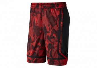 NIKE KYRIE DRY ELITE SHORTS UNIVERSITY RED