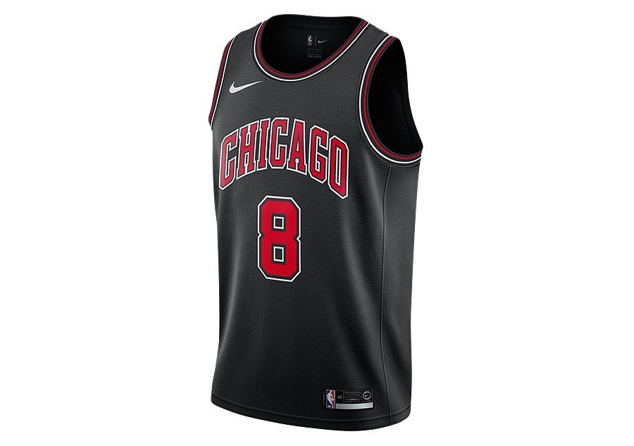 cheap for discount 58307 cd24e NIKE NBA CHICAGO BULLS ZACH LAVINE STATEMENT EDITION ...