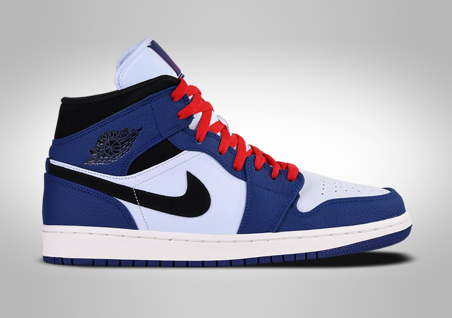 910c91939aca NIKE AIR JORDAN 1 RETRO MID SE DEEP ROYAL BLUE price €122.50 ...