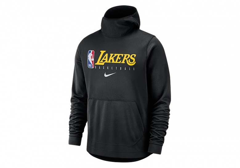NIKE NBA LOS ANGELES LAKERS SPOTLIGHT HOODIE BLACK