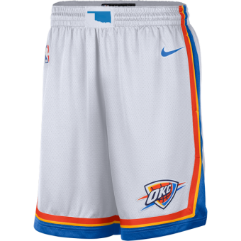 NIKE NBA OKLAHOMA CITY THUNDER HOME SWINGMAN SHORTS