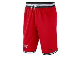 NIKE NBA CHICAGO BULLS DNA SHORTS UNIVERSITY RED