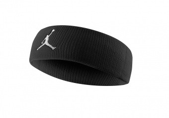 NIKE AIR JORDAN JUMPMAN HEADBAND BLACK