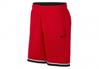 NIKE Dri-FIT CLASSIC SHORTS UNIVERSITY RED