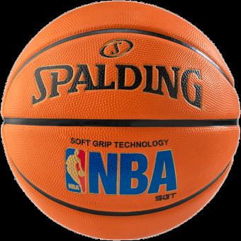 SPALDING NBA LOGOMAN SOFT GRIP SIZE 7