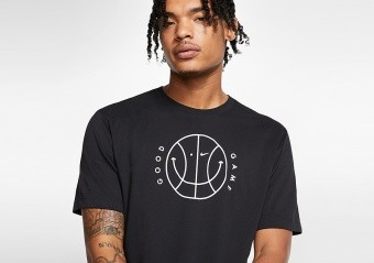 NIKE 'GOOD GAME' DRI-FIT TEE BLACK