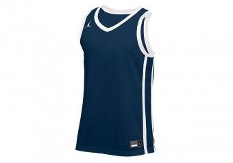 NIKE AIR JORDAN STOCK BASKETBALL JERSEY TEAM NAVY