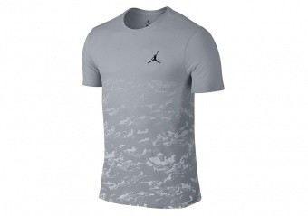 NIKE AIR JORDAN FLY HIGH TEE SMOKE GREY