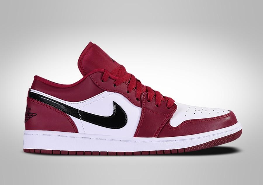 air jordan 1 retro rojo y blanco