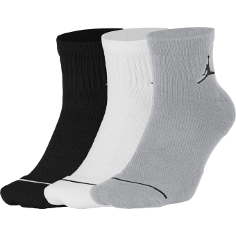 JORDAN JUMPMAN QTR SOCKS 3PACK