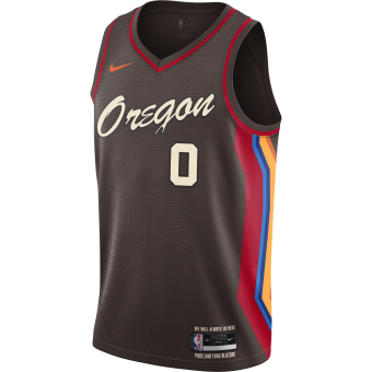 NIKE NBA PORTLAND TRAIL BLAZERS CITY EDITION SWINGMAN JERSEY