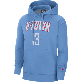 NIKE NBA HOUSTON ROCKETS CITY EDITION ESSENTIAL PULLOVER HOODIE