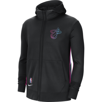 NIKE NBA MIAMI HEAT SHOWTIME CITY EDITION THERMA FLEX HOODIE