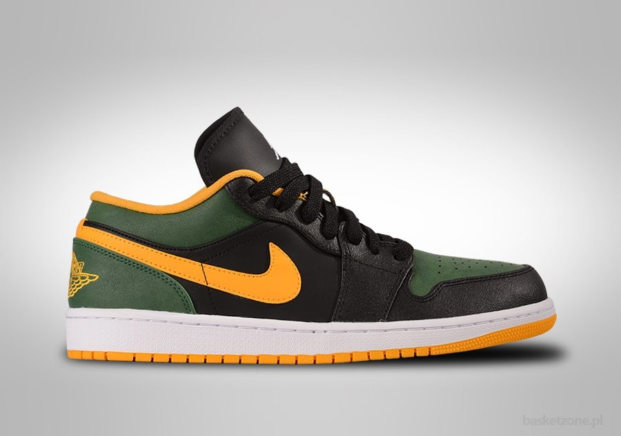 NIKE AIR JORDAN 1 LOW SEATTLE SUPERSONIC