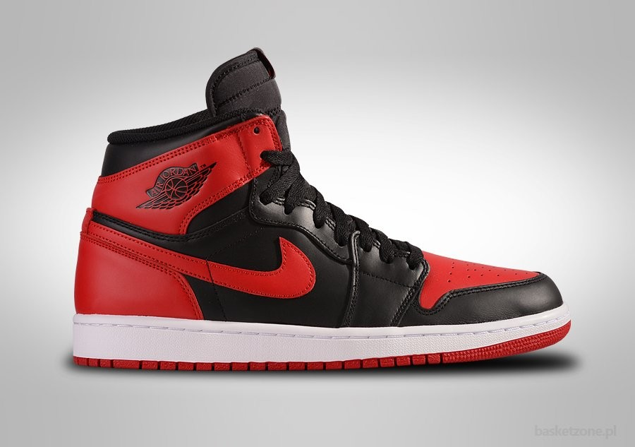 buy online b94ab 69f25 NIKE AIR JORDAN 1 RETRO HIGH OG BRED BANNED